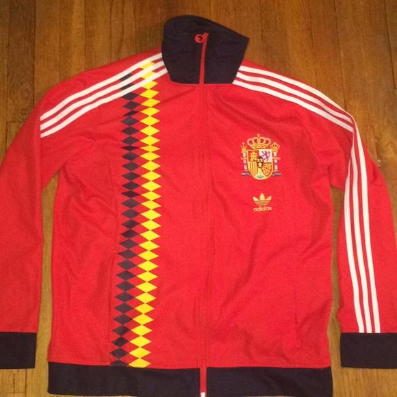 2feb601fc92 adidas Jackets & Coats | Originals Spain World Cup Track Jacket ...